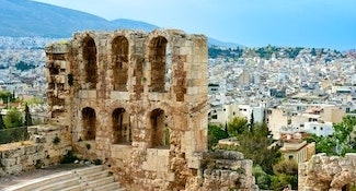 athens self guided tour
