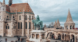 self-guided tour of budapest