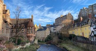 self-guided tour of edinburgh